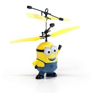 Helicopter Minion - Flying Minion For Kids At StationeryX