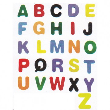 Alphabets Large (Simple) ABC