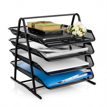 Buy 4 Tier Letter Tray - Best Letter Tray Online At Stationeryx.pk