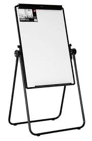 Deli Whiteboard Magnetic With Flip Chart 3×2 With Lags (E7891)