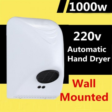 Home Small Size Hot Air Type Dry Hand Machine Automatic Induction Bathroom Hand Dryer