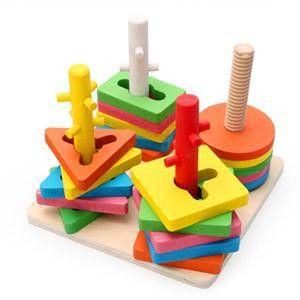 Buy 4-Set Of Column Shape - Kids Learning Toys At Stationeryx.pk