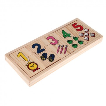 Buy Wooden Picture Counting - Wooden Toys At Stationeryx.pk