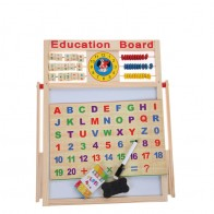 Wooden Education Toys - Education Board 5+1 Small Size