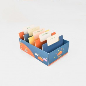 DIY BUSINESS CARD STORAGE BOX
