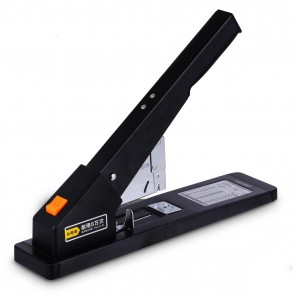 Deli 210 Pages Heavy-Duty Stapler Can Binding Leather Suitable for 23/6~23/23 Staples Office Supplies Black 0396