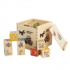 27 Piece Wooden Blocks 4+1