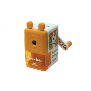 Deli Rotary Pencil Sharpener (Rainbow Dolls) (E0642)