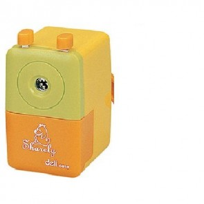 Deli RotarY Pencil Sharpener, (Multicolor) (E0616)