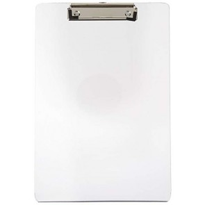 Clip Board Transparent Large Size F.C