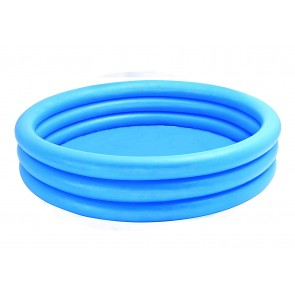 """INTEX Crystal Kids Blue Outdoor Inflatable 58"""" Swimming Pool  58426"""