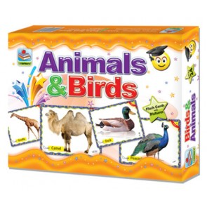Animal Flashcards - Birds Flashcards - Farm Animal Flashcards