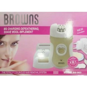 Lady Epilator BS-903 - Browns 4 In1