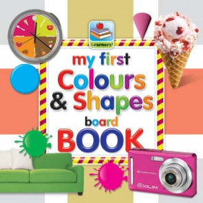 My First Board Book Of Colours & Shapes For Kids - 2078