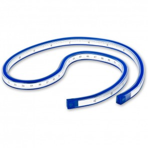 Flexible curve with scale Bodo 30 cm