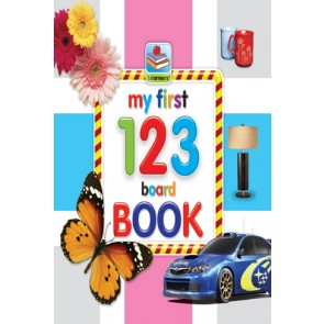 My First Board Book Of 123 For Kids - 2073