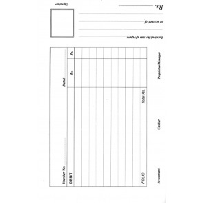 Debit Voucher Pad