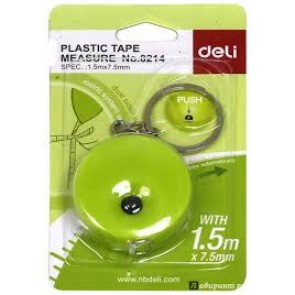 Deli Plastic Measure Tap 1.5 (With Key Chain)  (E8214)