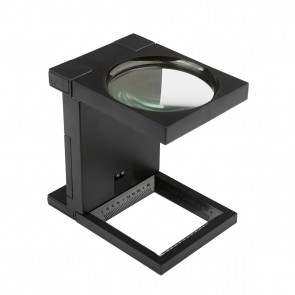 Folding Magnifier With Led Light Magnification 2.5x