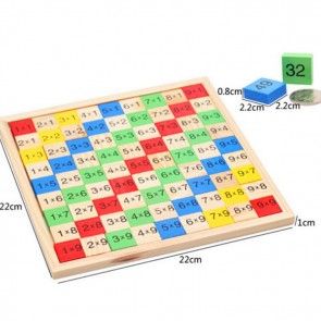 Multiplication Table Educational Math Toys
