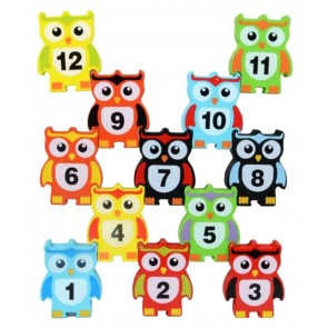 Owl Balance Blocks For Kids