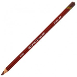 Derwent Fine Art Pencil - Terracotta