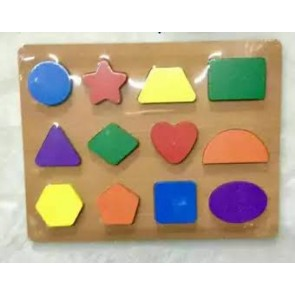 Buy Large Wooden Shapes Plate