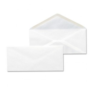 White Envelope 8X10