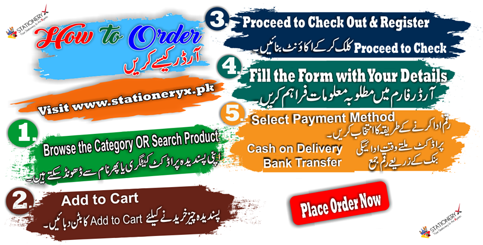 How to order at stationeryx