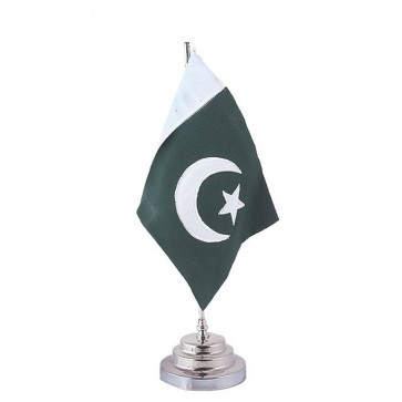 Buy Table Flag Holder - Office Desk Flags Online At Stationeryx.pk