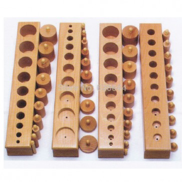 Cylinder Blocks - Cylinder Blocks Montessori At Stationeryx.pk