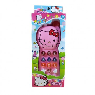 Music Mobile Phone - Hello Kitty Mobile For Kids | Stationeryx