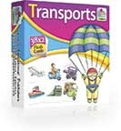 Transport Flashcards - Flashcards For Kids At Stationeryx.pk