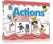Actions Flashcards - Flashcards For Kids - Kids Flash Cards