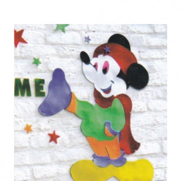 Mickey Joker Foaming Sheet