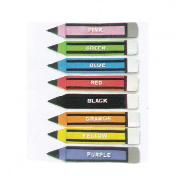 Color Pencil (8 Pcs) Foaming Sheet