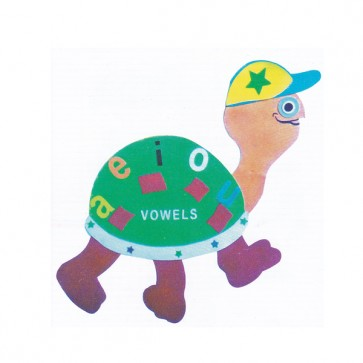 Turtle Vowel Foaming Sheet