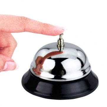 Stationeryx Stainless Steel Office Bell - Call Bell