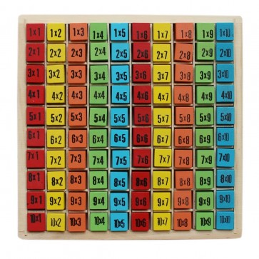 Wooden Multiplication Table - Multiplication Table For Kids At Stationeryx.pk