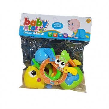 Rattle Set Net Bag - Baby Rattles - Baby Teether Toys At Stationeryx