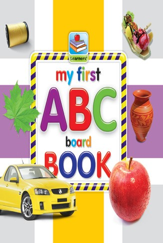 My First Board Book Of ABC For Kids - 2070
