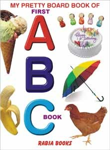 My Pretty Board Book Of First ABC-1 For Kids Learning - 2101
