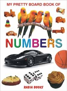 My Pretty Board Book Of Numbers For Kids Learning - 2104