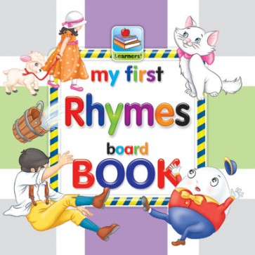 My First Board Book Of Rhymes For Kids - 2079