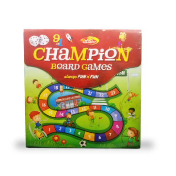 Champion Board Games 9 In 1 For Kids Always Fun & Fun