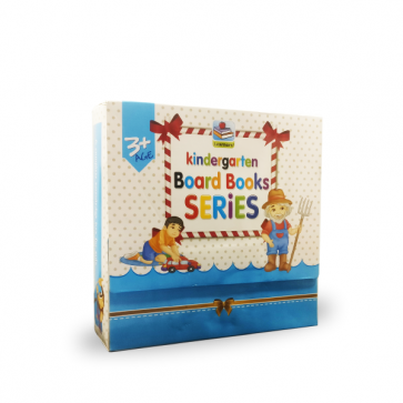 Early Educational Board Books Series Pack Of 5 For Kids