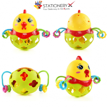 Baby Rattle - Chicken Rattle - Baby Musical Toys At Stationeryx