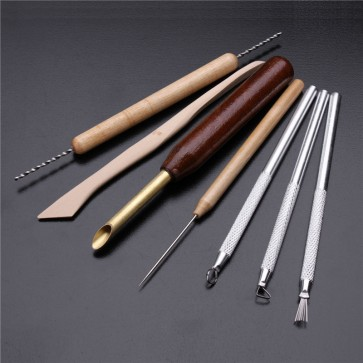 WAX CARVING SHAPERS POTTERY TOOLS SET FOR CLAY SCULPTING MOLDING CERAMICS