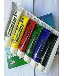 Marie's Acrylic Color - Pack of 6 (30ML) Tube