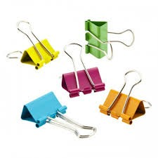Color Binder Clip 51mm